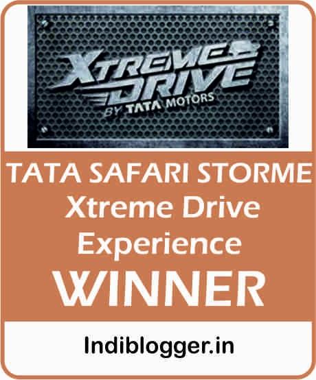 Tata Safari Stome ! IndiBlogger Contest
