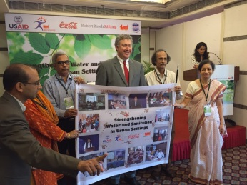 Collaboration for Wash Programmes in association with Coca-Cola, TERI University and USAID