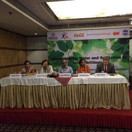 Collaboration for Wash Programmes in association with Coca-Cola, TERI University and USAID 2