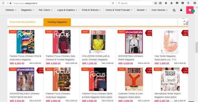 Design Info Magazine Home Page